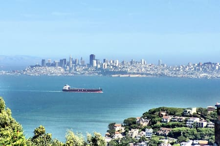 Historic Guest Home Sausalito Views - Bungalow