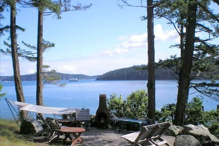 Orcas Island Waterfront Home - House