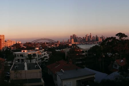 Top Floor Apartment Overlooking Sydney Harbour - Waverton - Wohnung