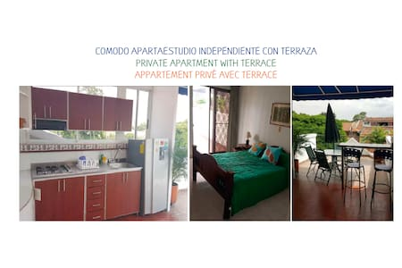 PRIVATE APARTMENT WITH TERRACE - NORTE DE CALI - Other