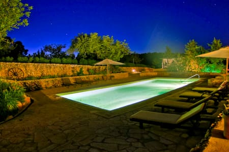 Villa holiday Ibiza style with pool