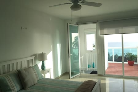 Beautiful Sunset Beachfront Penthouse at Rincon. - Apartment