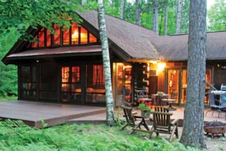Beautiful Cozy Lake Cabin in Woods - Manitowish Waters - Dům