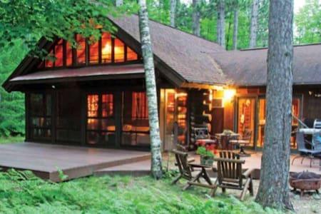Beautiful Cozy Lake Cabin in Woods - Manitowish Waters - Ház