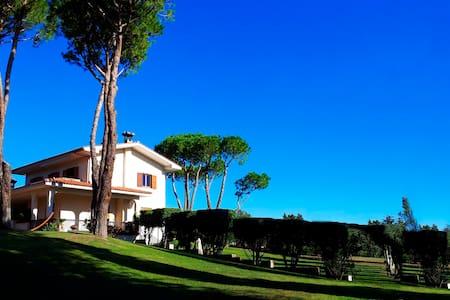 Villa with park near Rome