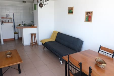 FURNISHED FOR 3 WITH OCEAN VIEW - Apartamento