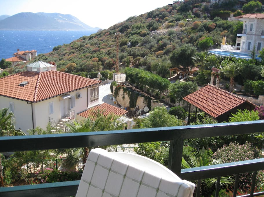 view from balkon
