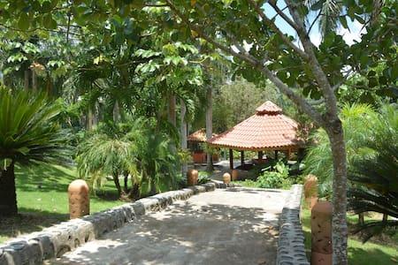 Villa de las Palmeras frente al río Haina - Villa Altagracia