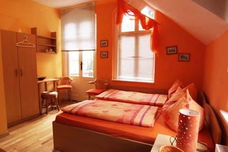 Doppelzimmer 102 mit Balkon - Ostseebad Heringsdorf - Rumah
