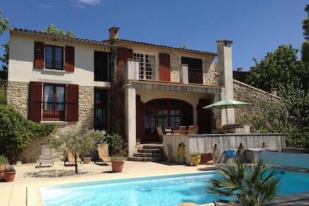 La Remise - villa with pool & view - Huis