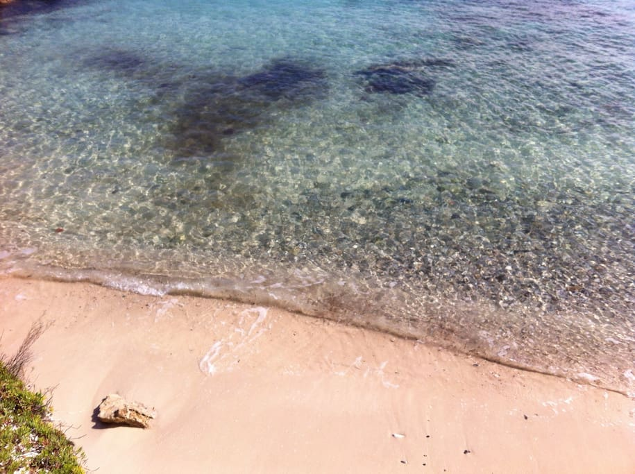 Calomoni beach, 600 meters from the cottage