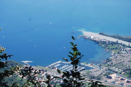 Léman : été au lac , hiver au ski ! - Wohnung