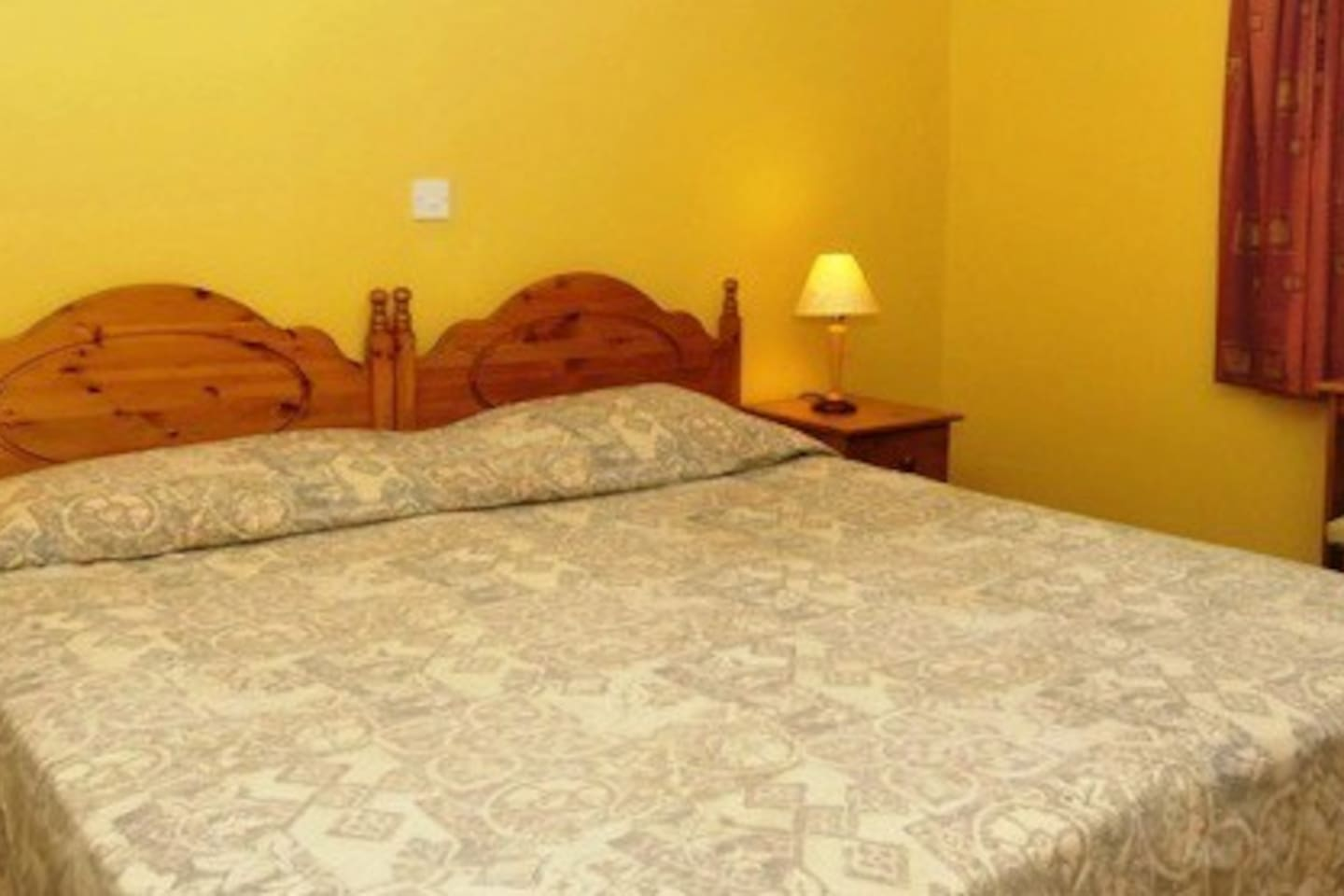 A Typical Double Room. All our rooms are en-suite and Private.