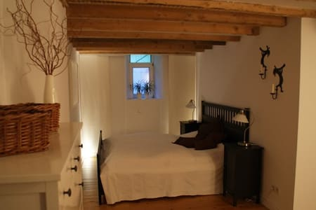 B&B room with sauna* & fireplace* - Aachen - Bed & Breakfast