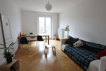 Room w Balcony In The Heart Of Bern - Bern - Wohnung