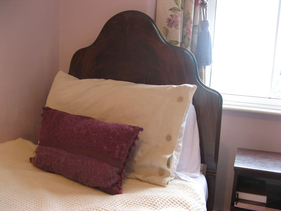 Rest in the comfy easy chair in our Brantfell room.