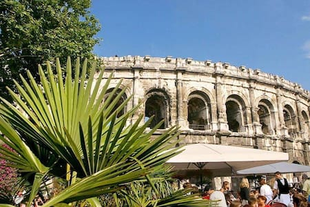 Charmant appartement en plein cœur de Nîmes - Appartement