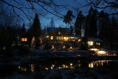 Finnish Sauna cottage by a river - Hämeenkoski