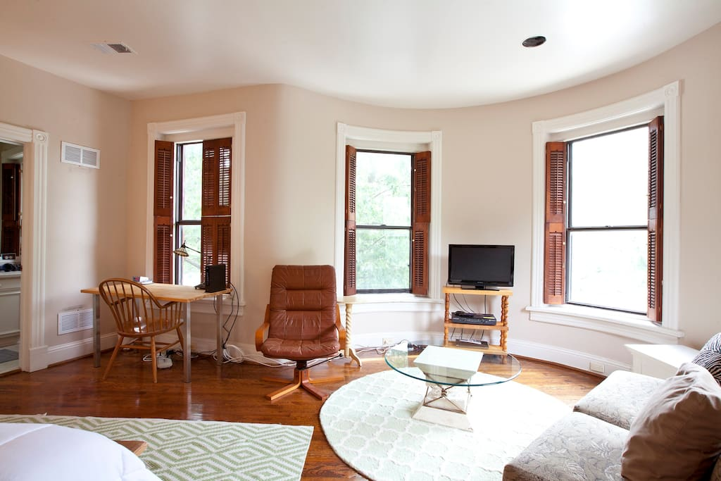 Your Own Historic Row House Suite