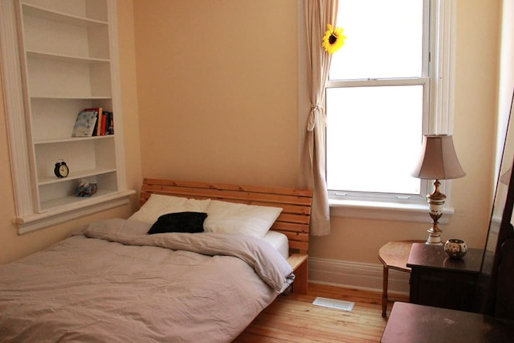 Second bedroom, with  double bed.