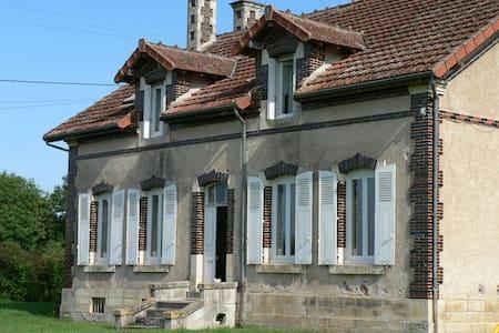 Grande maison de campagne, piscine - Casa
