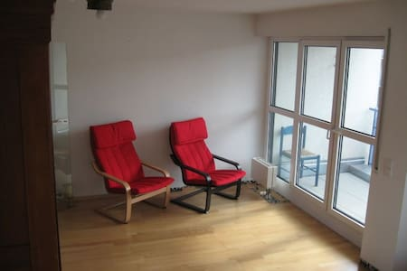 Central: Sunny apartment with balcony - Neustadt - Apartment