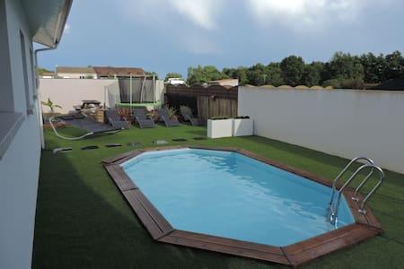 2 Chambres dans maison contemporaine - Carbon-Blanc