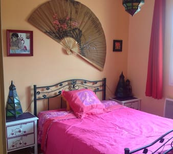 Chambre dans maison de 120 m2 - Bergerac - House