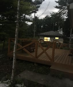 森の中の一軒家 山中小屋 a cabin in the woods - House