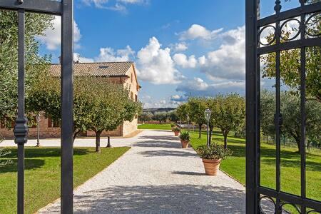 Villa Pedossa 1br apt Grano - Senigallia POOL - Apartmen