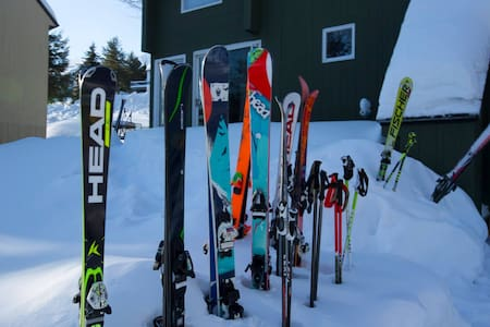 Sugarbush Ski in, Ski out Chalet - 3 Bed, 2.5 bath - ウォレン