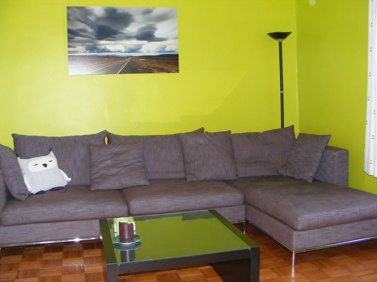 Double room with separate living room