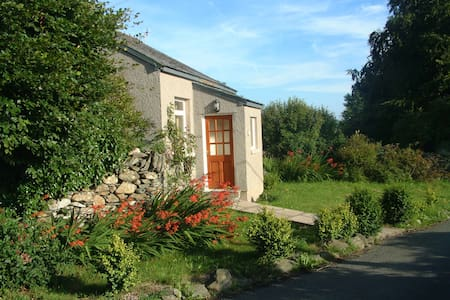 Woodland Cottage alone in farmland - Cartmel