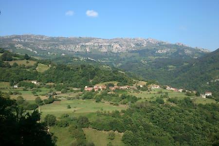 Peaceful holiday in rural Asturias - Paniceres, Pola de Laviana - Wohnung