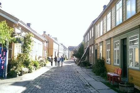 Bright flat in charming Bakklandet - Trondheim