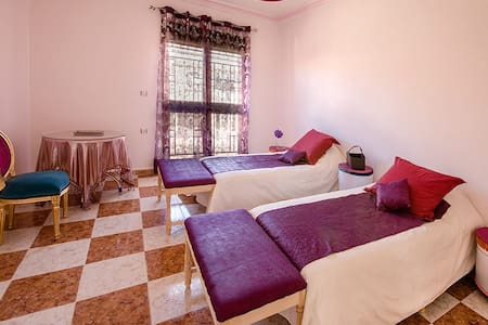 Chambre double à Tlemcen - Bed & Breakfast