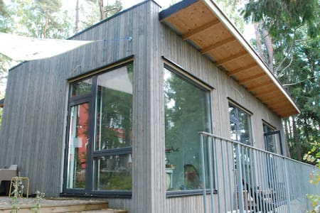 Design studio in garden, West Espoo - Wohnung
