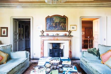 villa affrescata meta' ottocento - House