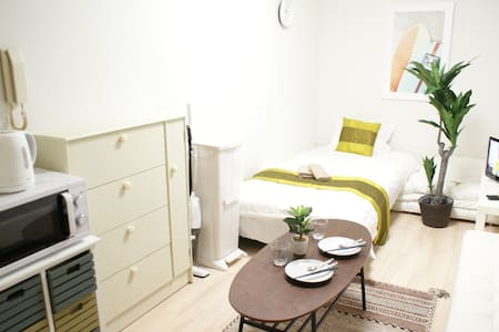①NEW Room★SALE★Close to Osaka Sta+Free WIFI and TV - Appartement