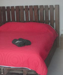 Matrimonial Room + private terrace - Lobitos District - Bed & Breakfast
