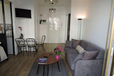 STUDIO + BALCON  (Vue Tour Eiffel) - Apartament
