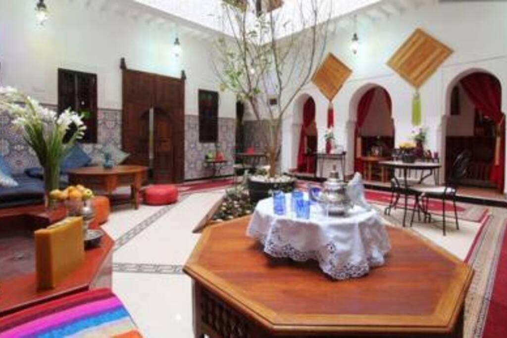 Riad Dar Khadouj chambre oasis