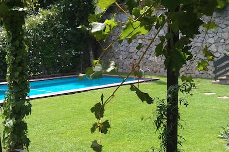 Apartment privat garden & pool BCN