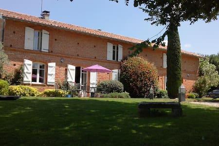 Maison de caractère en brique rose  - Huis