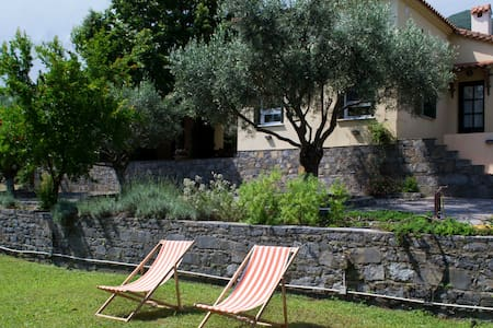 Villa Alexandra in the island of Evia - Ev
