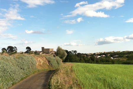 Charming Village House below Castle - Puimisson