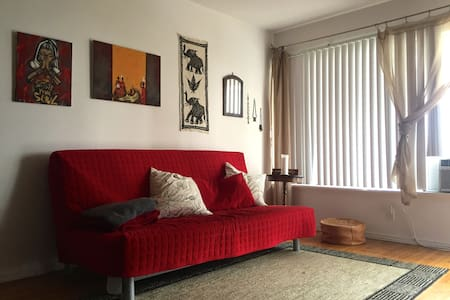 Lovely, bright 1BR in the heart of West Hollywood - West Hollywood - Apartment