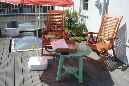 Roof Terrace Appartement Amsterdam