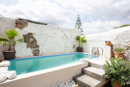 Authentic village house with pool