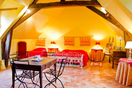 Nice B&B-Loire Valley chateaux 3per